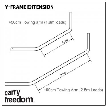 Carry Freedom Long Tow Arm