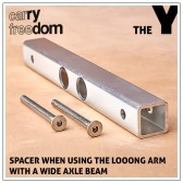 Carry Freedom Spacer - Looong Arm/ Wide Axle Beam
