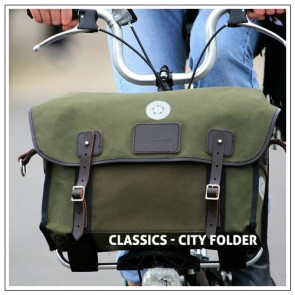 Carradice Stockport City Folder S Bürotasche für Brompton