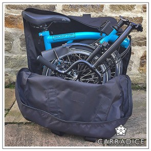 CarraDura Folding Bike Carrying Bag / Rucksack (Tasche)