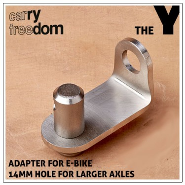 Carry Freedom E-Bike Adapter for Lollypop-Hitch 14mm