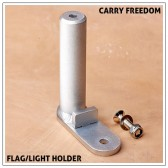 Carry Freedom Flag and Light Holder