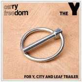 Carry Freedom Safety Pin for Lollypop hitch