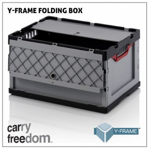 Carry Freedom Folding box with lid (for Y-Frame)