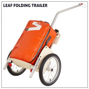 LEAF trailer with the UPSO bag attached.
